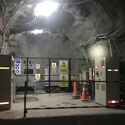 Underground electrical substation in the K'isa decline