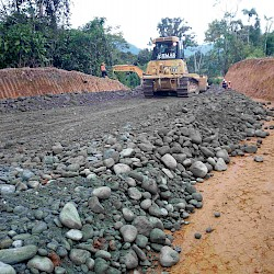 North Access road progressing well