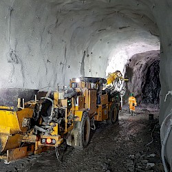 Underground mine development on track